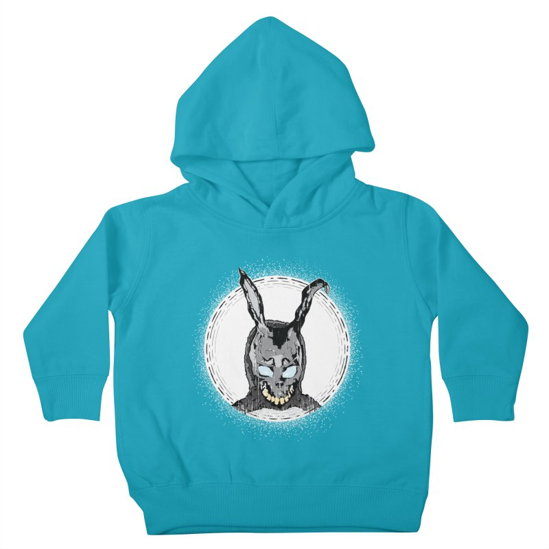 Down the Rabbit Hole Kids Toddler Pullover Hoody by Cold Lantern Design