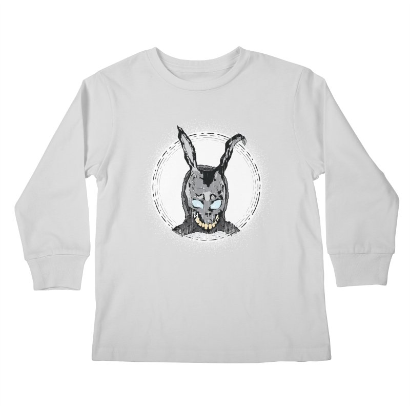 Down the Rabbit Hole Kids Longsleeve T-Shirt by Cold Lantern Design