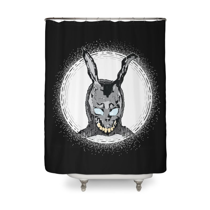 Down the Rabbit Hole Home Shower Curtain by Cold Lantern Design