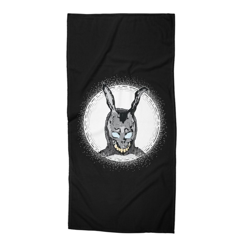 Down the Rabbit Hole Accessories Beach Towel by Cold Lantern Design