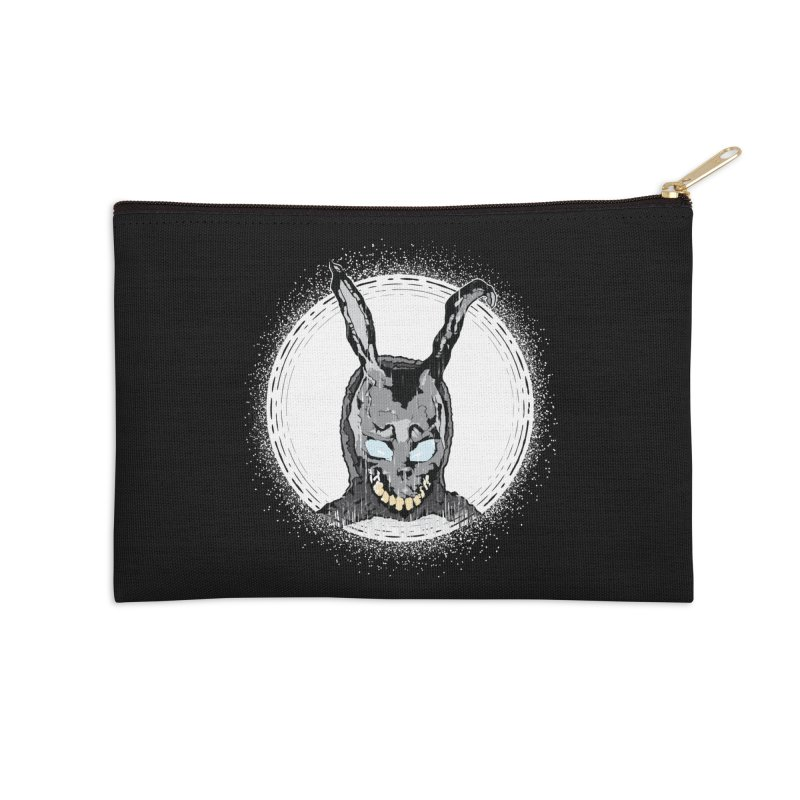 Down the Rabbit Hole Accessories Zip Pouch by Cold Lantern Design