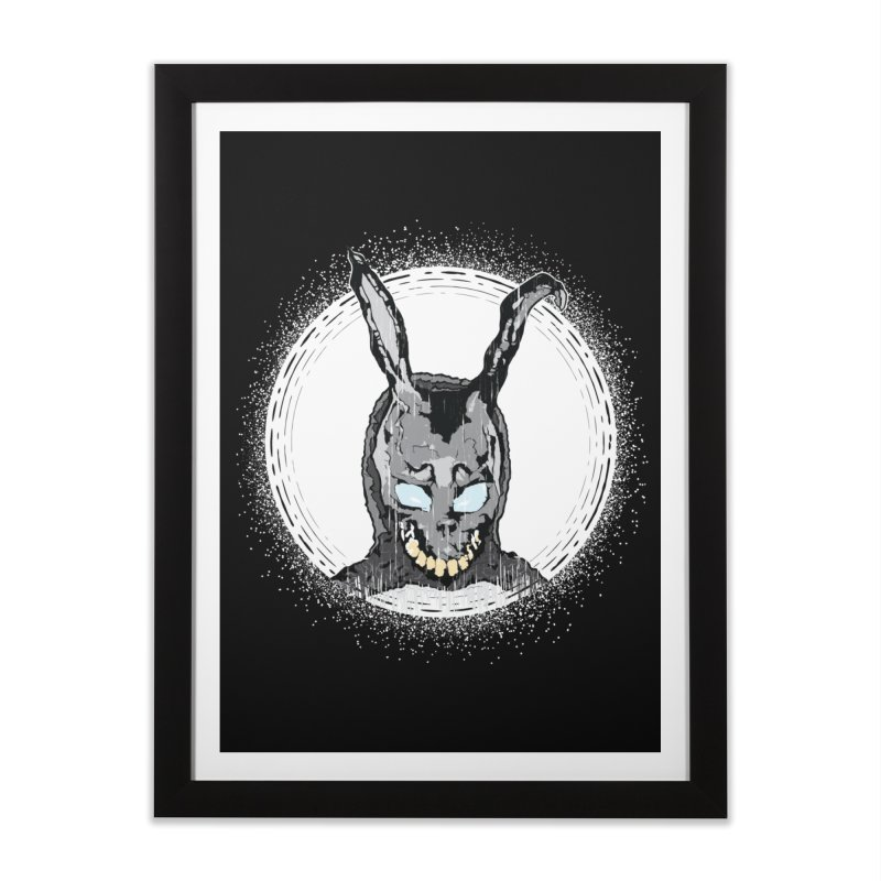 Down the Rabbit Hole Home Framed Fine Art Print by Cold Lantern Design