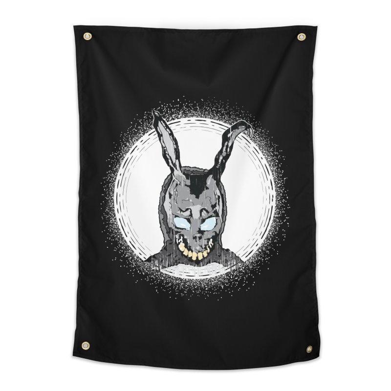 Down the Rabbit Hole Home Tapestry by Cold Lantern Design