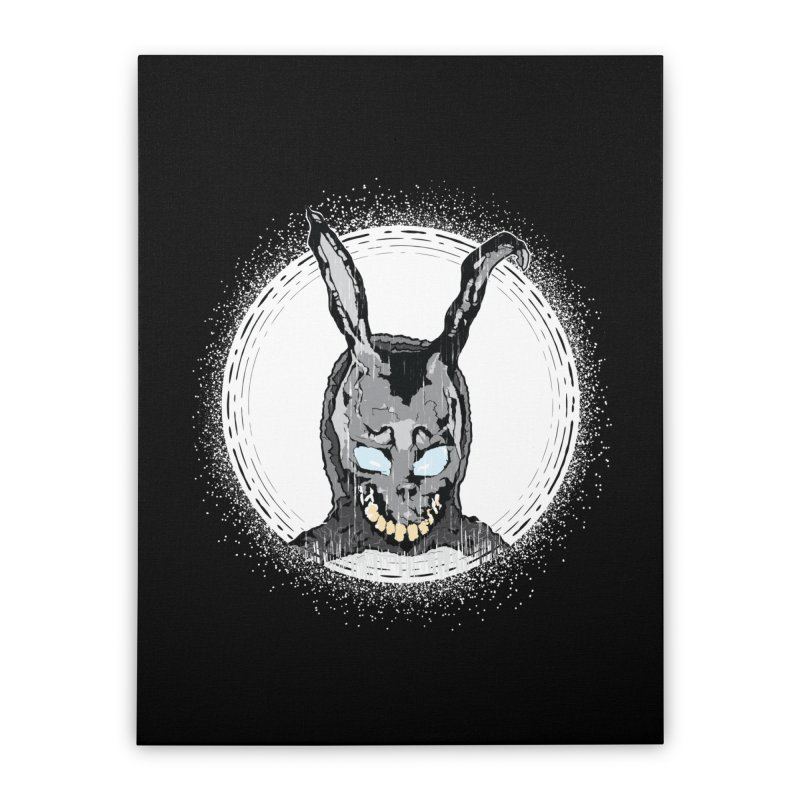 Down the Rabbit Hole Home Stretched Canvas by Cold Lantern Design