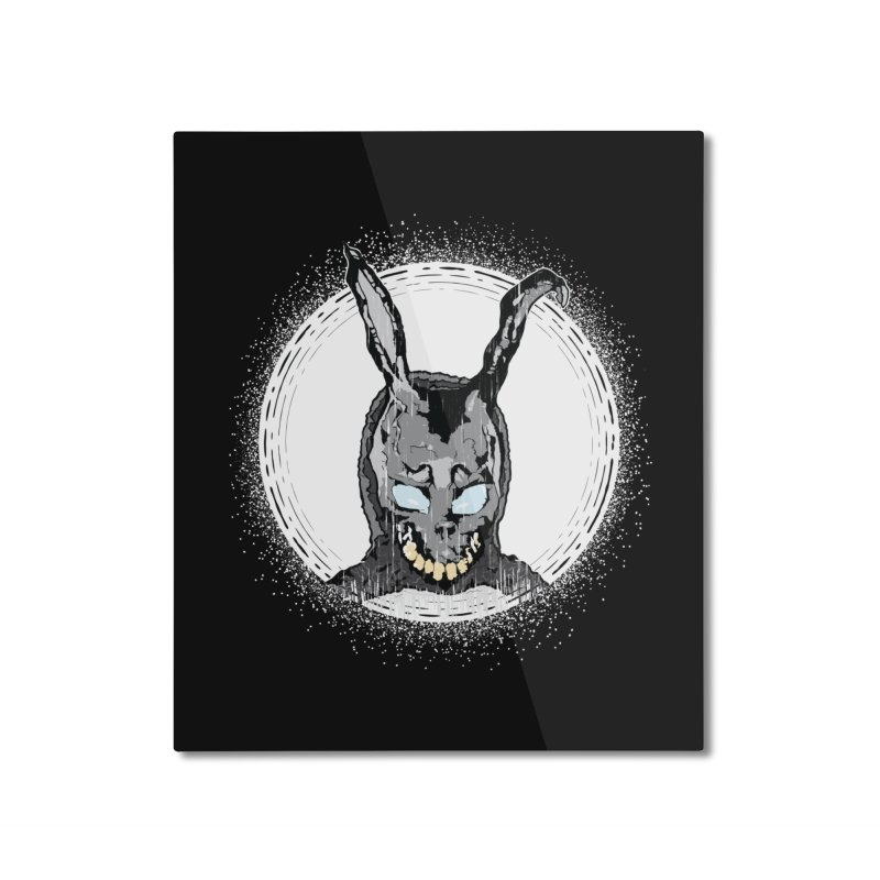 Down the Rabbit Hole Home Mounted Aluminum Print by Cold Lantern Design