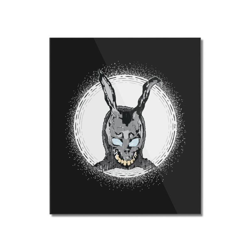 Down the Rabbit Hole Home Mounted Acrylic Print by Cold Lantern Design