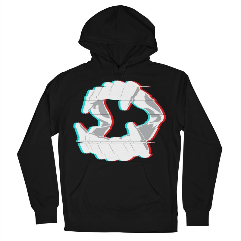 In Your Face in Men's Pullover Hoody Black by Cold Lantern Collection