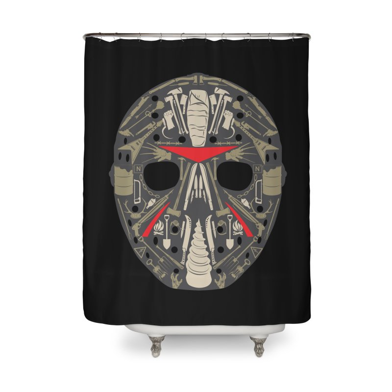 Weapons of Choice Home Shower Curtain by Cold Lantern Collection