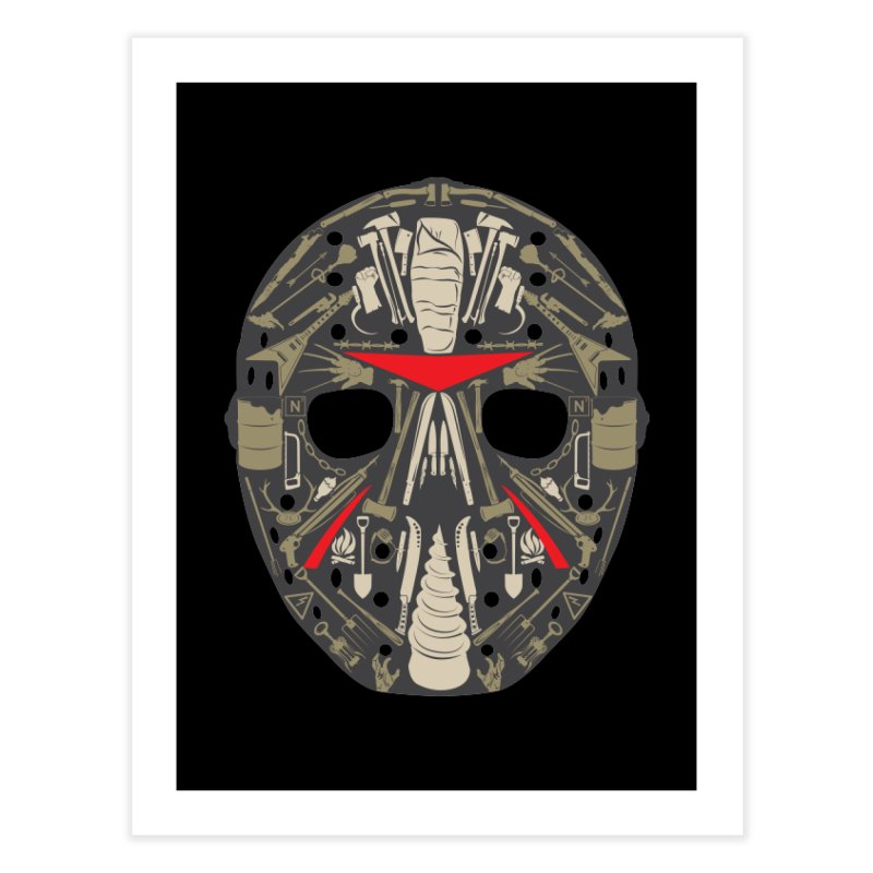 Weapons of Choice Home Fine Art Print by Cold Lantern Collection