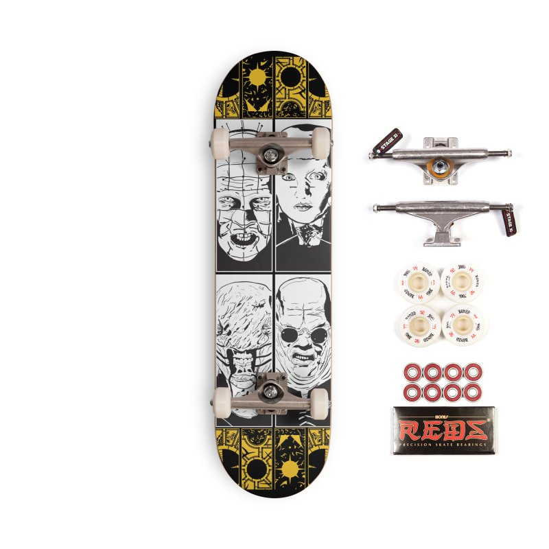 Life of Pain Accessories Complete - Pro Skateboard by Cold Lantern Design