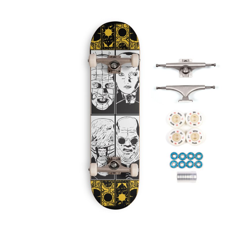 Life of Pain Accessories Complete - Premium Skateboard by Cold Lantern Design