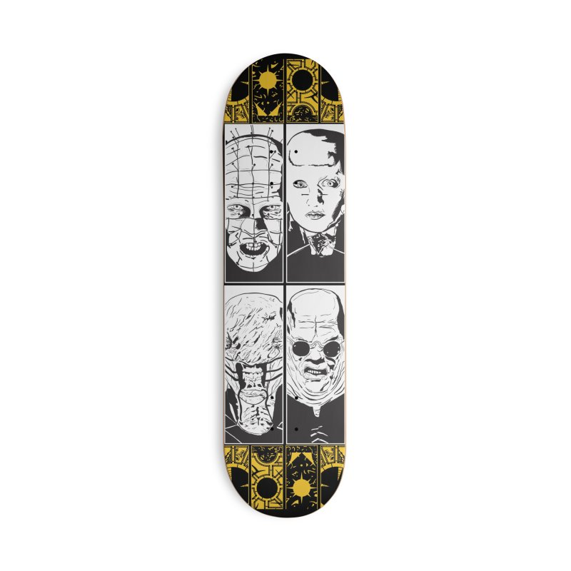 Life of Pain in Deck Only Skateboard by Cold Lantern Collection