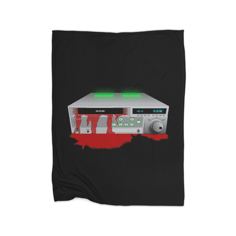 Death by VCR Home Blanket by Cold Lantern Collection