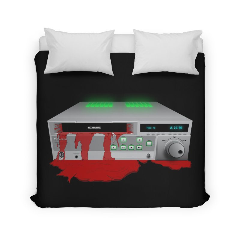 Death by VCR Home Duvet by Cold Lantern Collection
