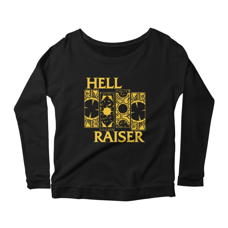 """Life of Pain """"Lemarchand"""" Variant Women's Longsleeve Scoopneck  by Cold Lantern Collection"""