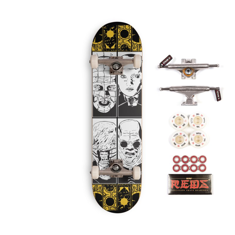 "Life of Pain ""Lemarchand"" Variant Accessories Complete - Pro Skateboard by Cold Lantern Collection"