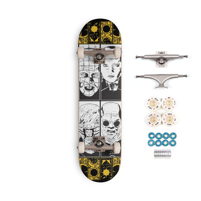 "Life of Pain ""Lemarchand"" Variant Accessories Complete - Premium Skateboard by Cold Lantern Design"