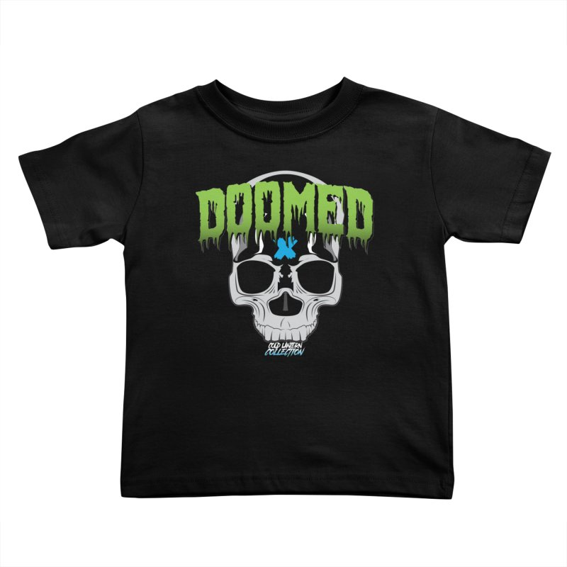 DOOMED Logo Kids Toddler T-Shirt by Cold Lantern Collection
