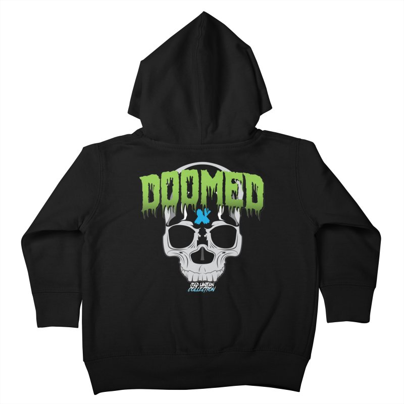 DOOMED Logo Kids Toddler Zip-Up Hoody by Cold Lantern Collection
