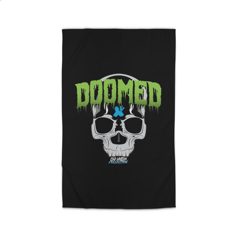 DOOMED Logo Home Rug by Cold Lantern Collection