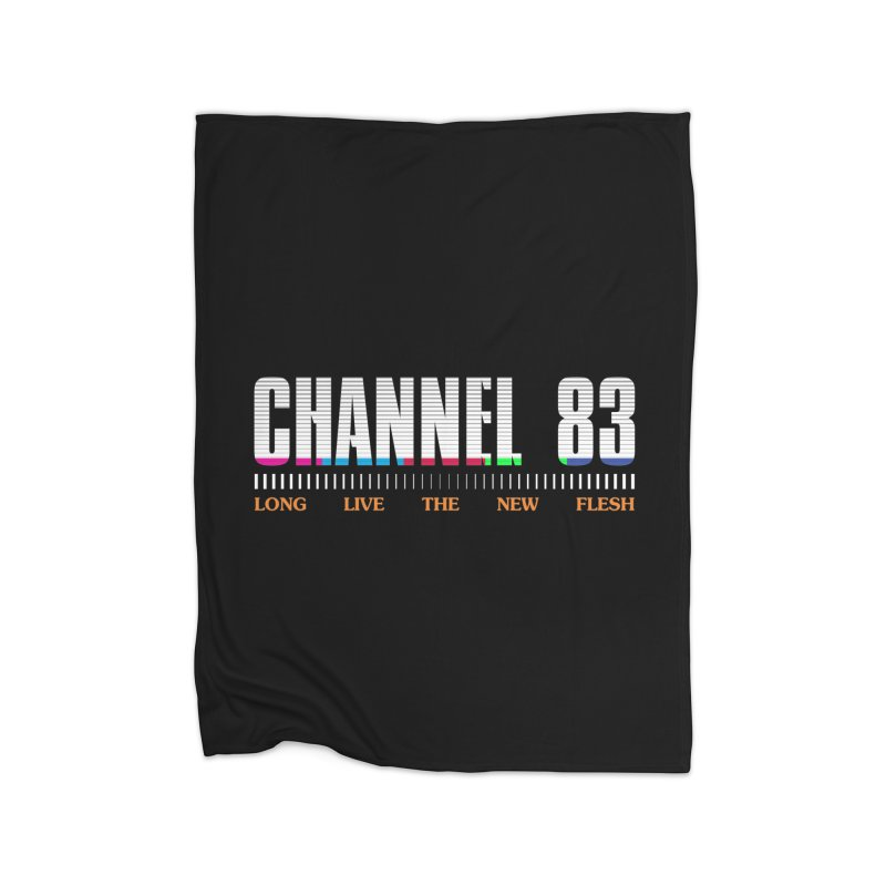CHANNEL 83 Home Blanket by Cold Lantern Collection