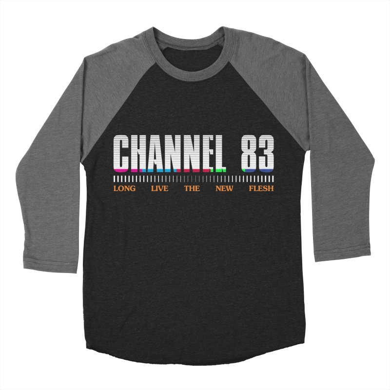 CHANNEL 83 Men's Baseball Triblend T-Shirt by Cold Lantern Collection