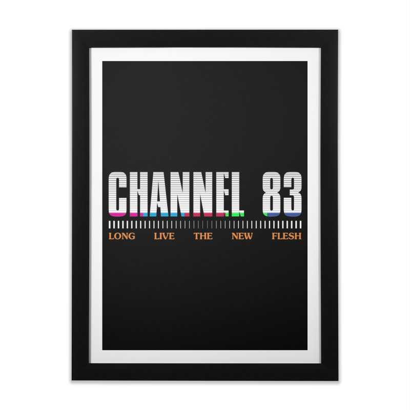 CHANNEL 83 Home Framed Fine Art Print by Cold Lantern Collection