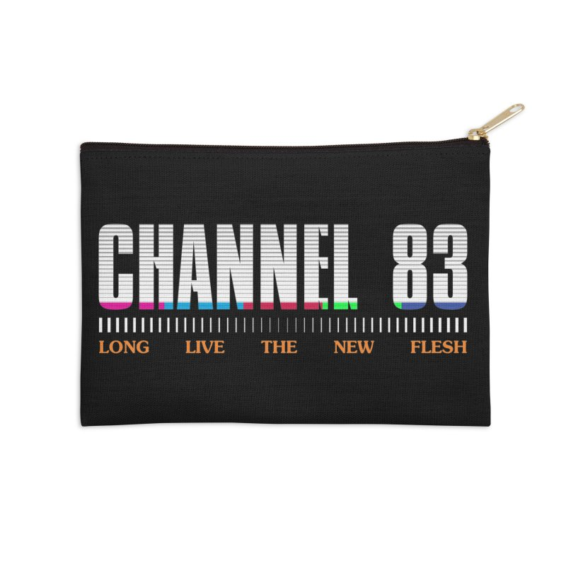 CHANNEL 83 Accessories Zip Pouch by Cold Lantern Collection