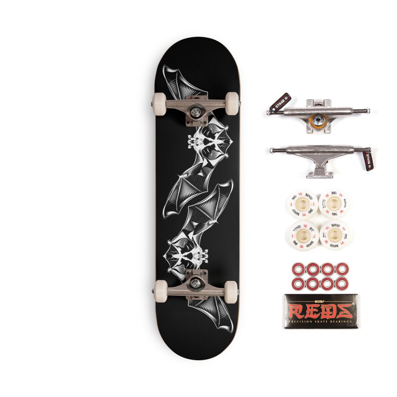 Order of the Chiroptera Accessories Complete - Pro Skateboard by Cold Lantern Design
