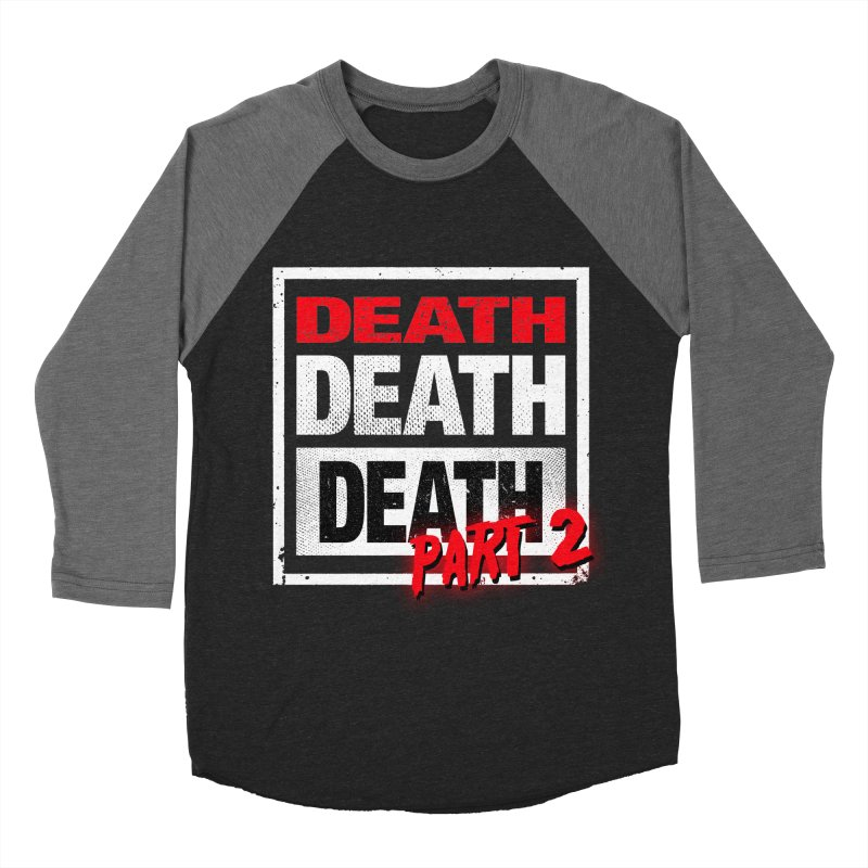 DEATH II Men's Baseball Triblend T-Shirt by Cold Lantern Collection