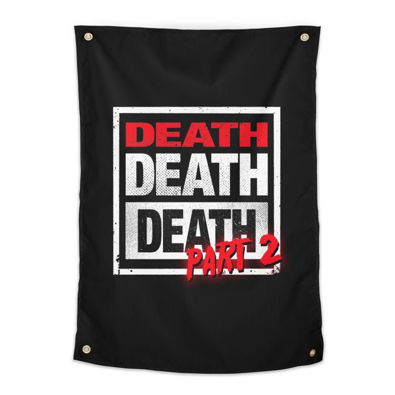DEATH II Home Tapestry by Cold Lantern Collection