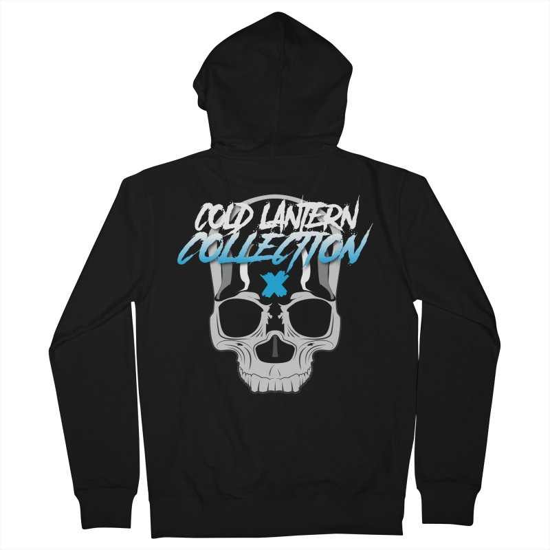 Cold Lantern Logo V2 Men's Zip-Up Hoody by Cold Lantern Collection