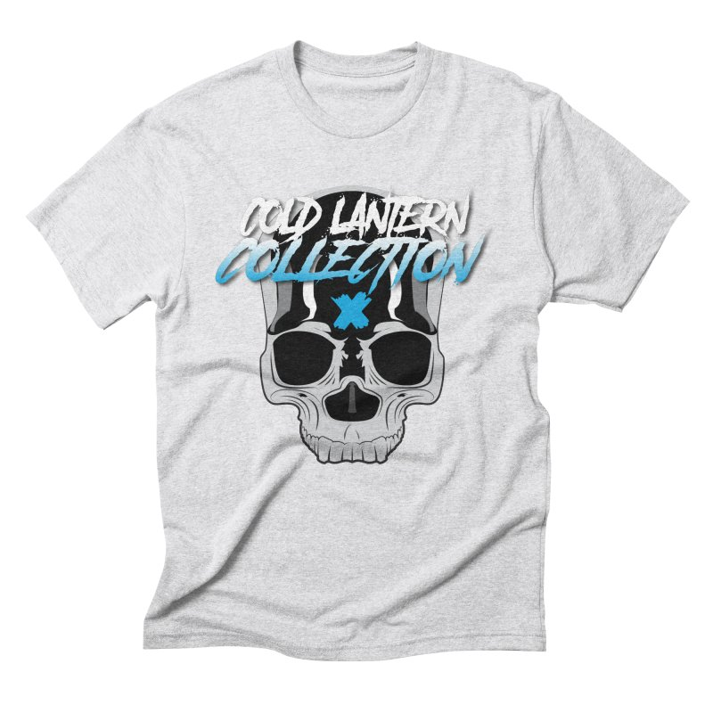 Cold Lantern Logo V2 Men's Triblend T-shirt by Cold Lantern Collection