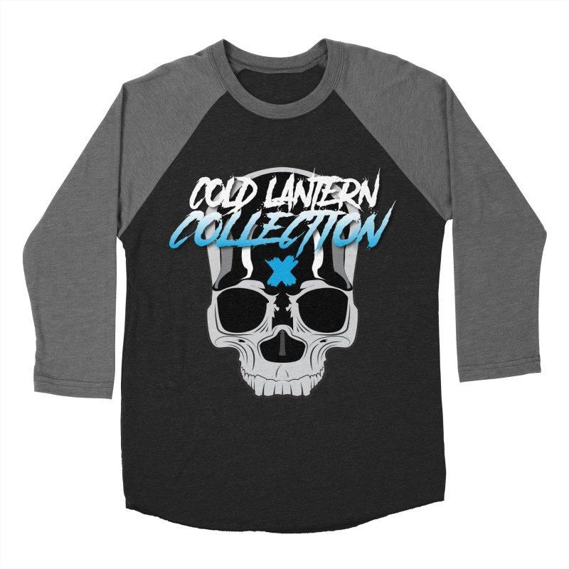 Cold Lantern Logo V2 Men's Baseball Triblend T-Shirt by Cold Lantern Collection