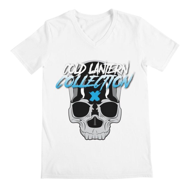 Cold Lantern Logo V2 Men's V-Neck by Cold Lantern Collection