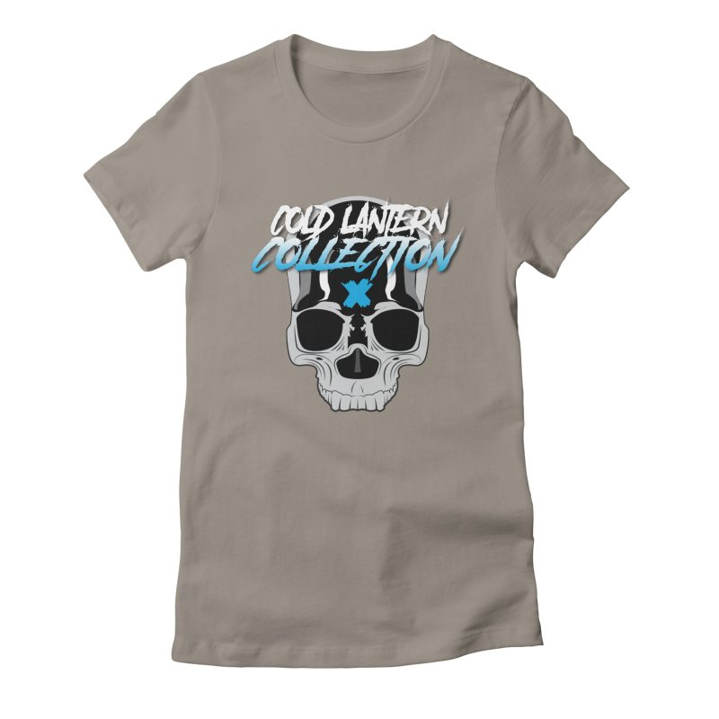 Cold Lantern Logo V2 Women's Fitted T-Shirt by Cold Lantern Collection