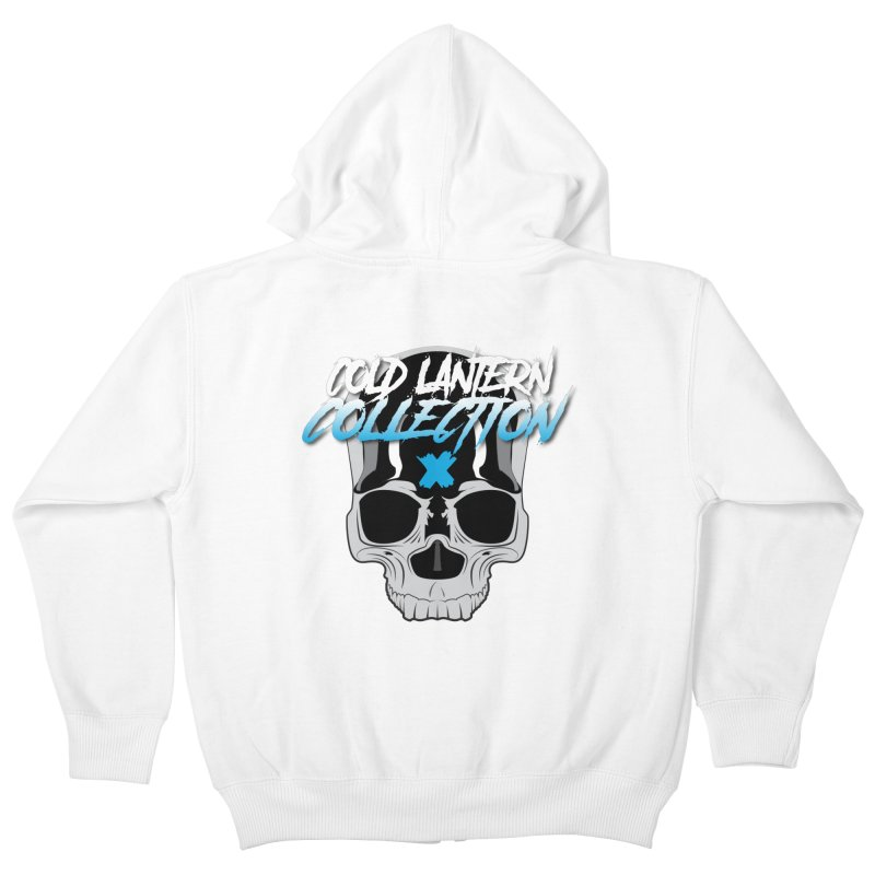 Cold Lantern Logo V2 Kids Zip-Up Hoody by Cold Lantern Collection