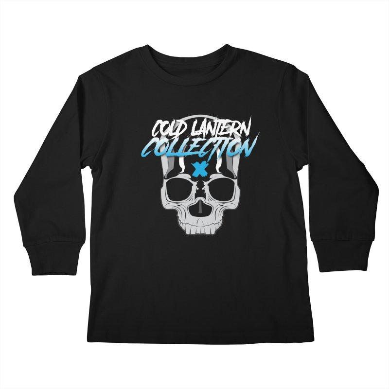 Cold Lantern Logo V2 Kids Longsleeve T-Shirt by Cold Lantern Collection