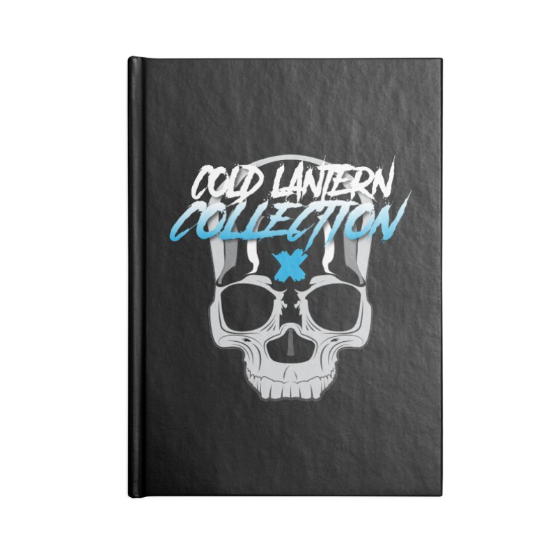 Cold Lantern Logo V2 Accessories Notebook by Cold Lantern Collection