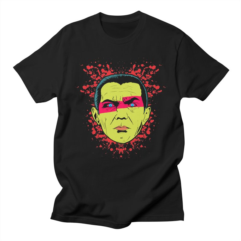 Bela Is Alive in Men's T-Shirt Black by Cold Lantern Collection