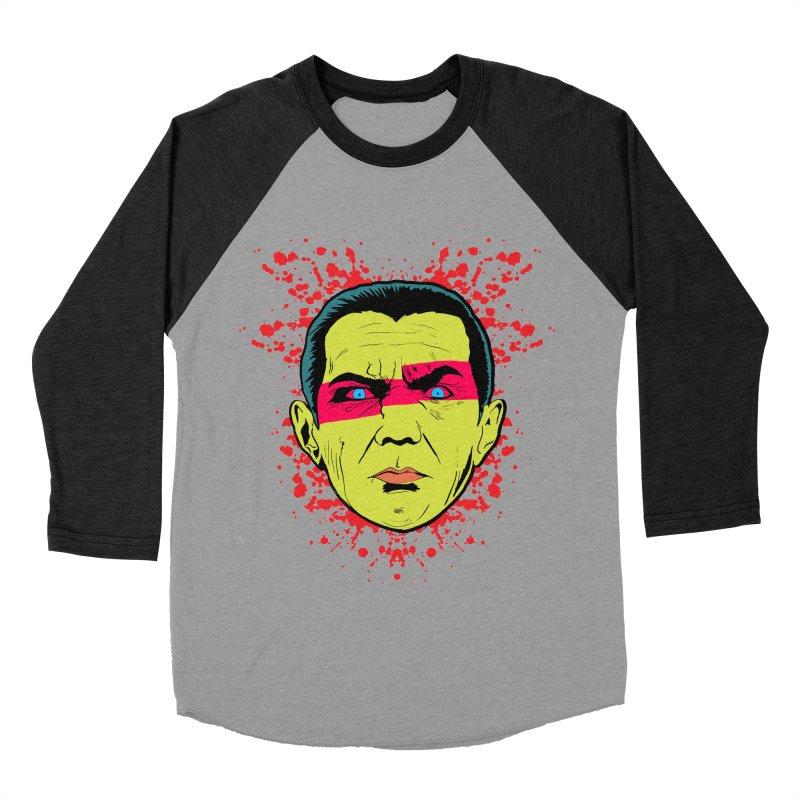 Bela Is Alive Men's Baseball Triblend T-Shirt by Cold Lantern Collection