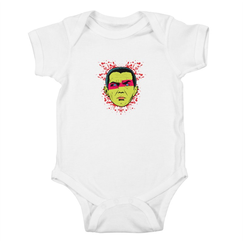 Bela Is Alive Kids Baby Bodysuit by Cold Lantern Collection