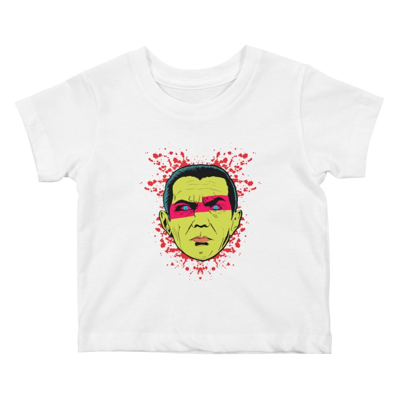 Bela Is Alive Kids Baby T-Shirt by Cold Lantern Collection