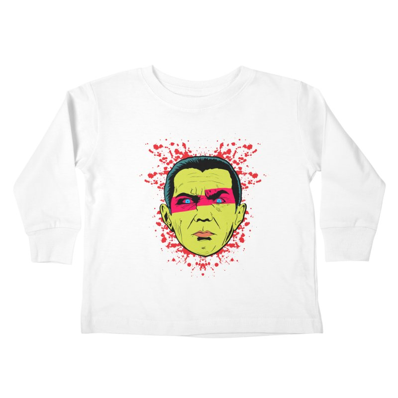 Bela Is Alive Kids Toddler Longsleeve T-Shirt by Cold Lantern Collection