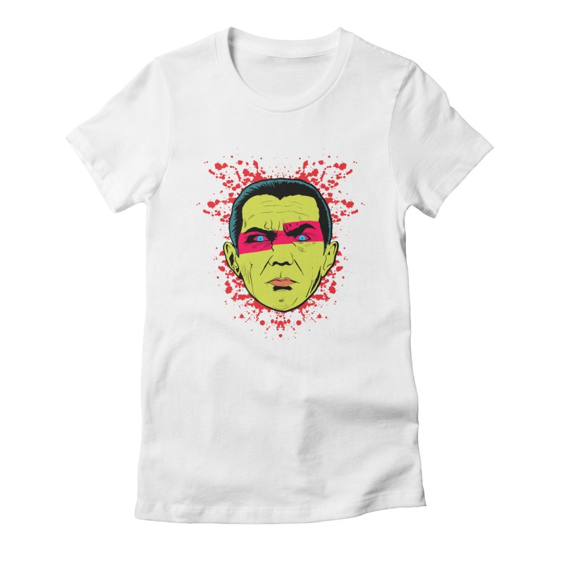 Bela Is Alive Women's Fitted T-Shirt by Cold Lantern Collection