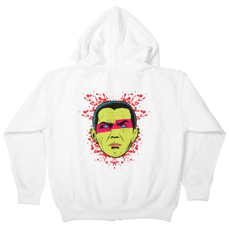 Bela Is Alive Kids Zip-Up Hoody by Cold Lantern Collection
