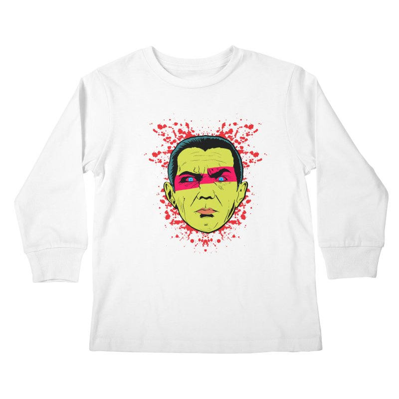 Bela Is Alive Kids Longsleeve T-Shirt by Cold Lantern Collection