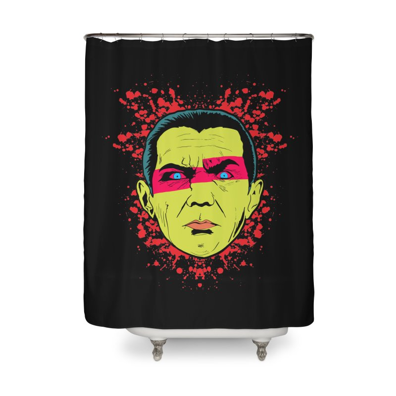 Bela Is Alive Home Shower Curtain by Cold Lantern Collection