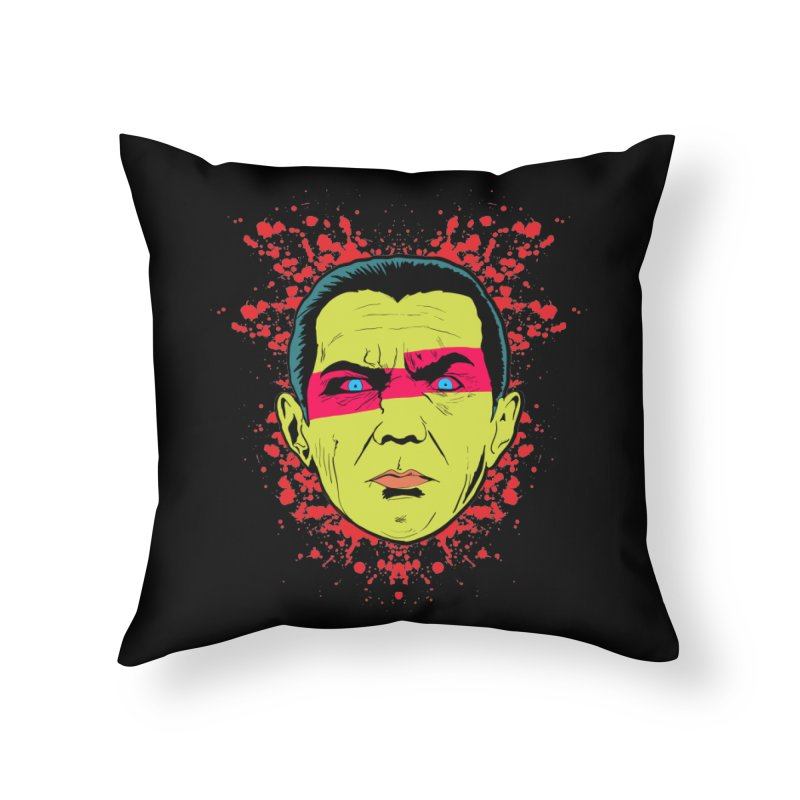 Bela Is Alive Home Throw Pillow by Cold Lantern Collection