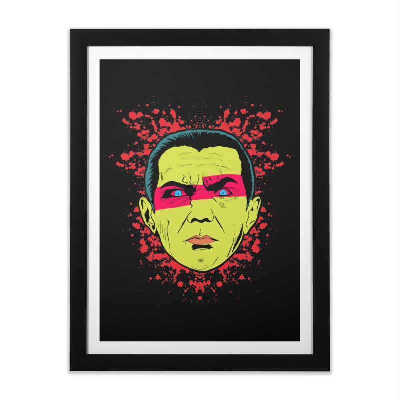 Bela Is Alive Home Framed Fine Art Print by Cold Lantern Collection